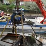 Gezonken boot gelicht waternet3