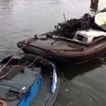 Gezonken boot gelicht waternet4